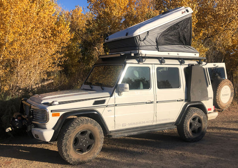 James Baroud Space hard shell Roof Top Tent Package for Mercedes G-Wagen Discount