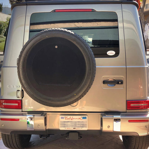 Spare Wheel Cover lockable for New Mercedes W463A GWagon