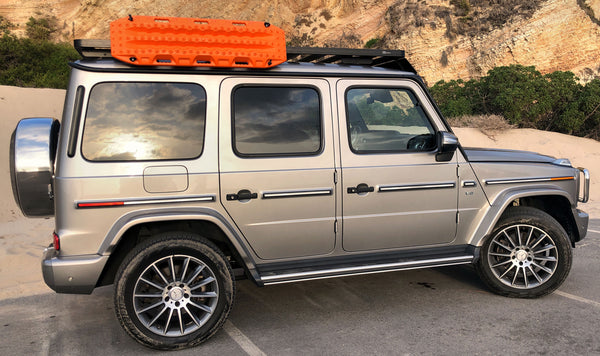 Maxtrax in Safety Orange for Mercedes G-Wagen
