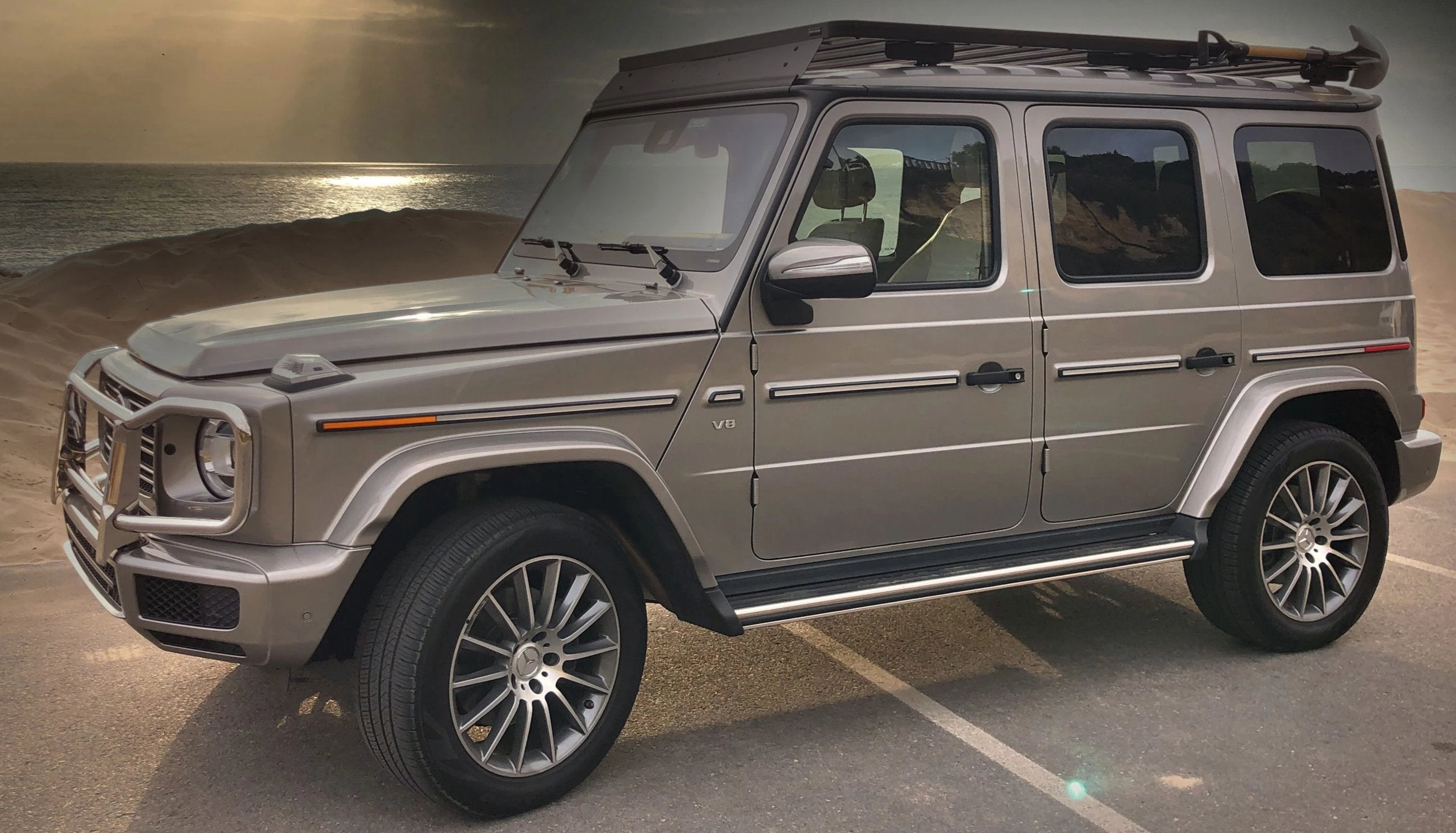 New 2019 To Current Mercedes Benz G Wagen W463a Full Length 2 4m Roof G Wagenaccessories Com