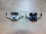 Review photo of Heavy duty Gwagenaccessories trailer hitch compared to weak OEM hitch