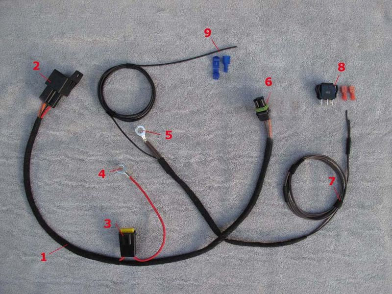 A Light Wiring Harness on