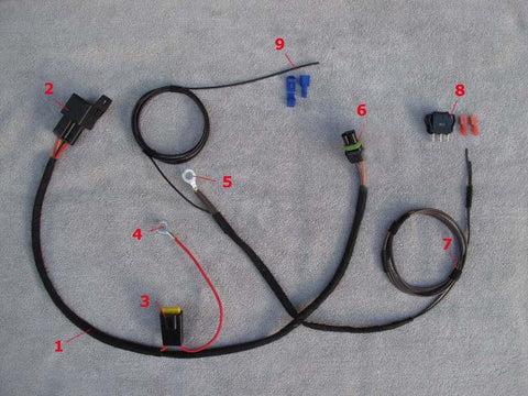 Aux lighting Harness G-wagen 2000 to 2014