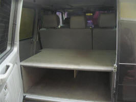 Gwagen rear cargo shelf for LWB G-class