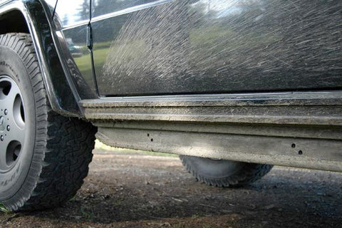 Rock slider Gwagen Rockmeister for all W463 - Mercedes side protection for LWB Mercedes Gwagon parts