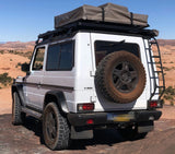SWB Short Wheel Base Mercedes G-Wagen Slimline Roof Rack Low