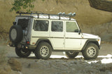 SlimLine II Roof Rack on a Mercedes G-Class