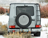 G-Wagen spare tire compartment lockable custom paint