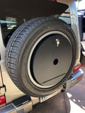 Spare wheel Storage box secure lockable for New 2019 - 2020 Mercedes Gwagon to be used with OEM Spare wheel cover