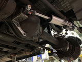 Fox Steering Stabilizer installed on a W463 Mercedes G-Wagen