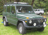 Beautiful W460 Gwagen with VTS-7801 Basket Roof Rack