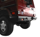 VTS-7151 G-wagenaccessories All Steel Rear Bumper Installation