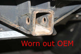 Worn out OEM factory Mercedes G-Class trailer hitch