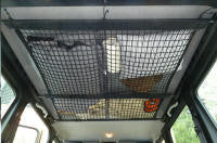 ceiling net storage for LWB G-class