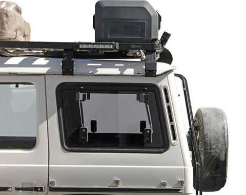 Gwagen Gullwing Side Window Glass - easy storage access