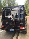 Mercedes-Benz G550 with All Steel Recovery Bumper and trailer hitch