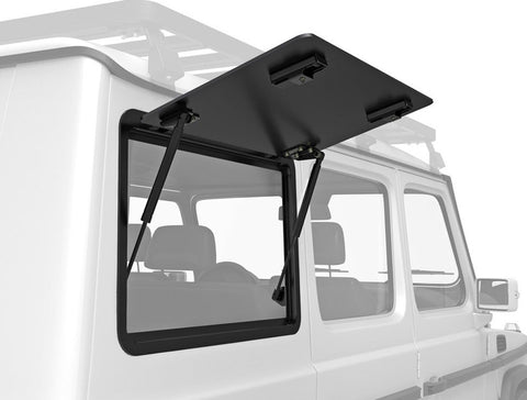 gelandewagen Gullwing Aluminum replacement side window, top hinge