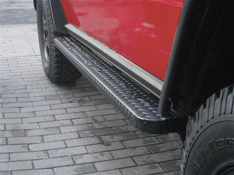 Aluminum Running Boards - for SWB W463 G-Wagen
