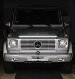 2007 Mercedes W463 Gwagen tow pin bumper on vehicle