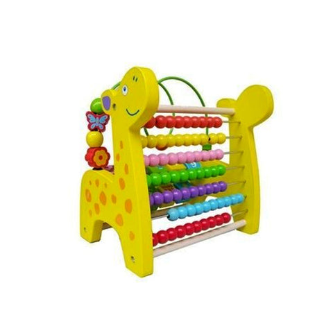 Toy - Wooden Giraffe Abacus