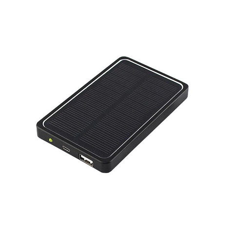 Solar Power Bank - 4000MA Black