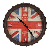 Clock - Bottle Top Keep Calm