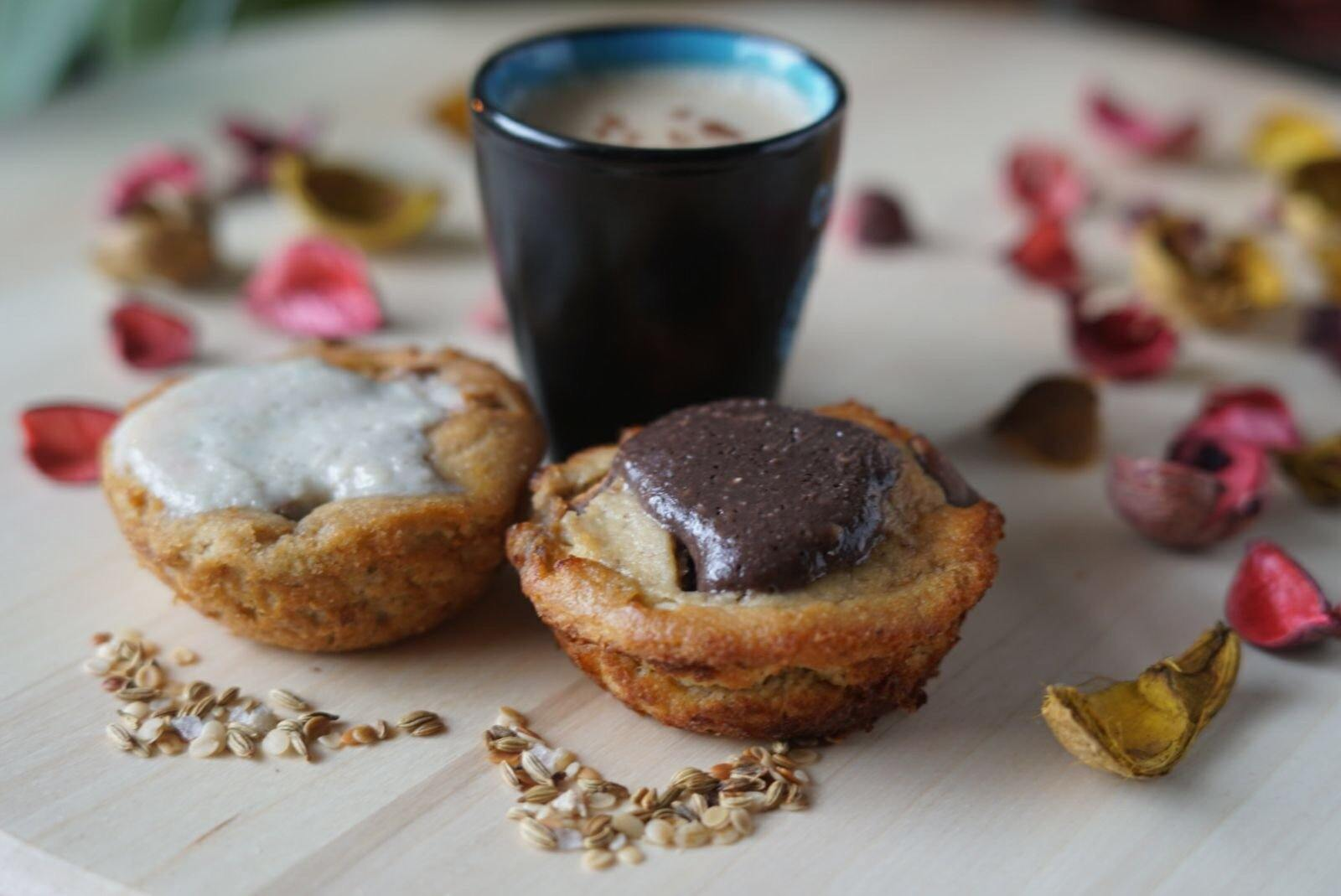 4 Paleo Banana Protein Muffins with G-Butter - Healthy Xpress