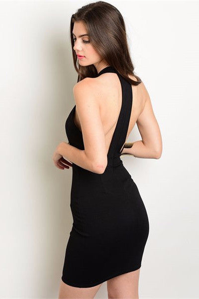T-Back Dress - Black