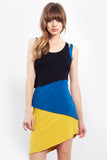 Trifecta Coloblocked Dress