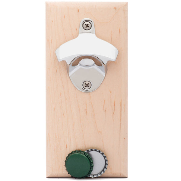 Maple Magnetic Bottle Opener