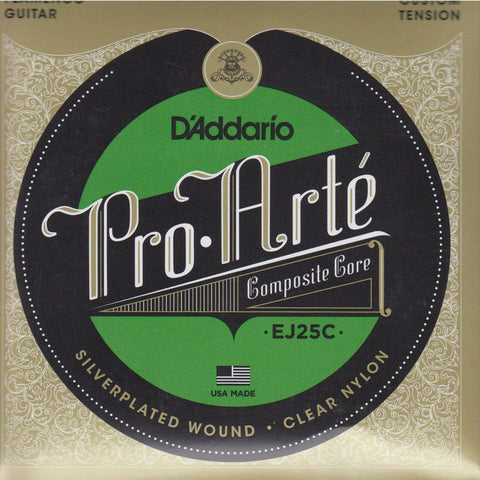 Image of D'Addario / Pro Arté Composite Core Flamenco Clear Nylon / Custom Tension (EJ-25-C)