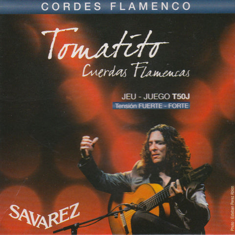 Image of Savarez / Tomatito Flamenco / Hard Tension (T-50-J)