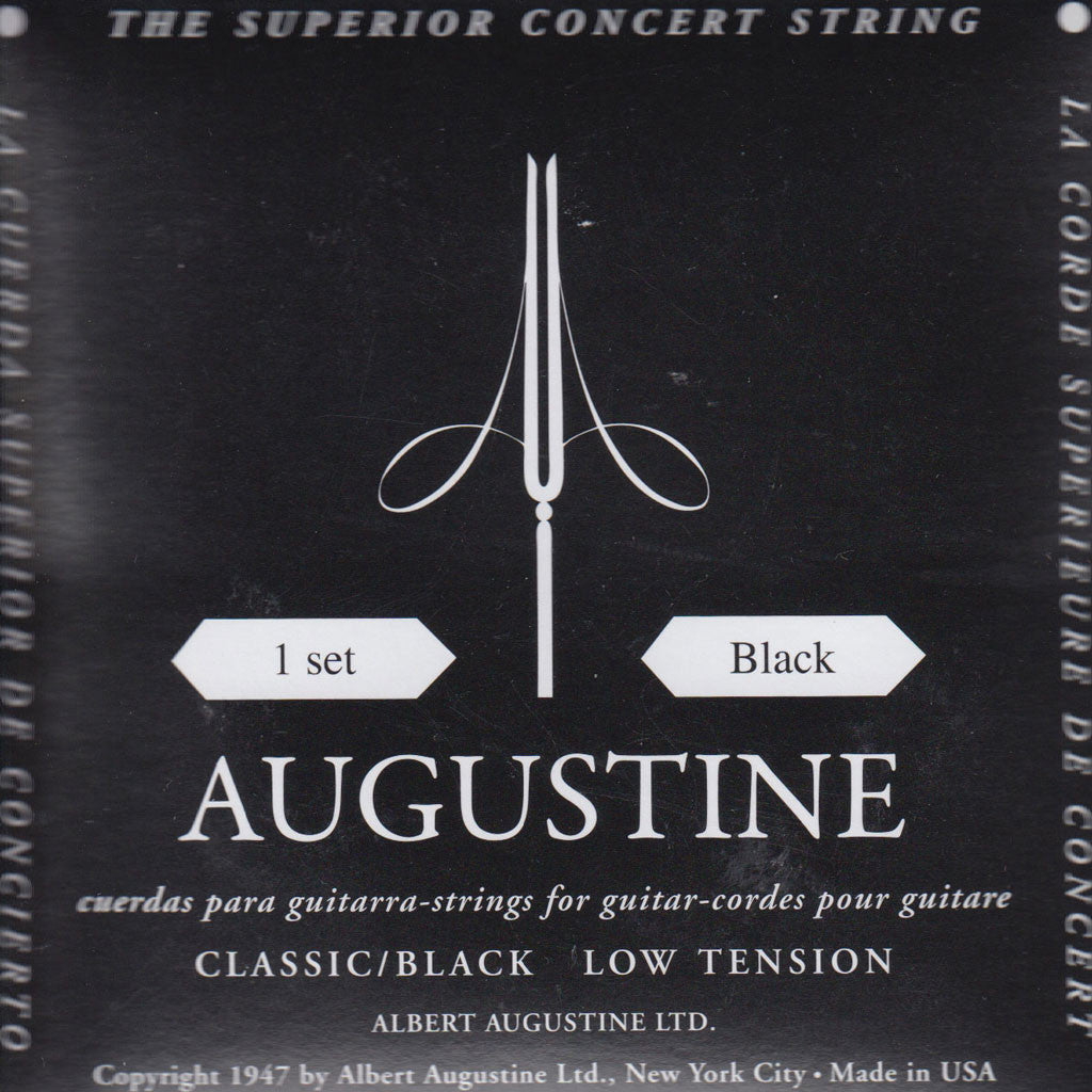 Image of Augustine / Classic Black / Low Tension (Classic/Black)
