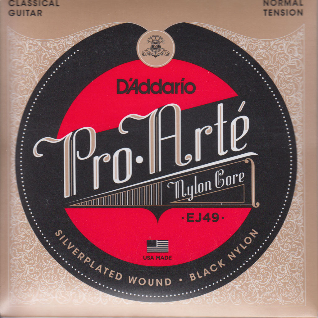 Image of D'Addario / Pro Arté Nylon Core Black Nylon / Normal Tension (EJ-49)
