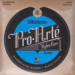 Image of D'Addario / Pro Arté Nylon Core Black Nylon / Hard Tension (EJ-50)