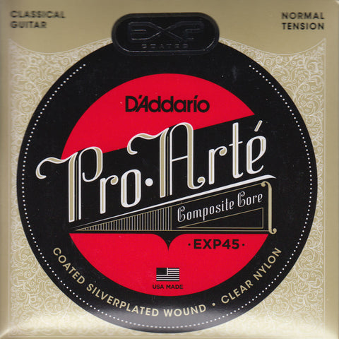 Image of D'Addario / Pro Arté EXP Coated Composite Core / Normal Tension (EXP-45)
