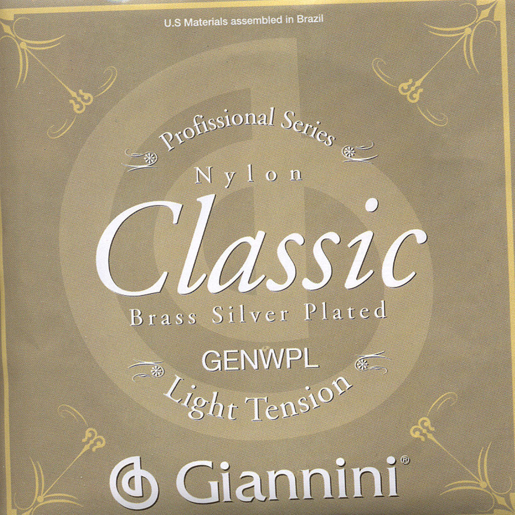 Image of Giannini / Silver Plated Bronze / Light Tension (GENWPL)
