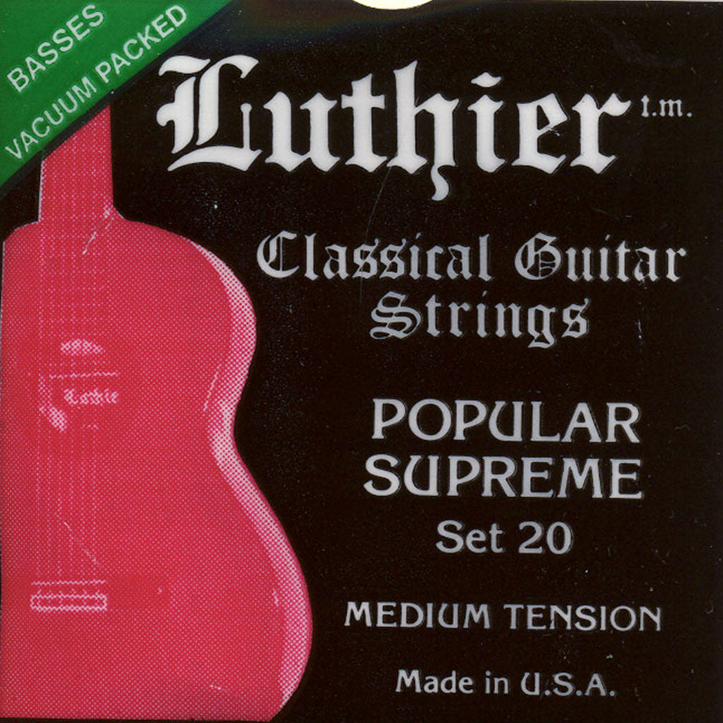 Image of Luthier / Popular Supreme / Medium Tension (20)