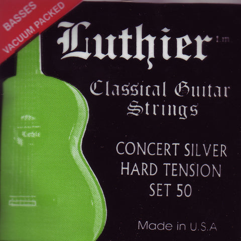 Image of Luthier / Concert Silver / Hard Tension (50)