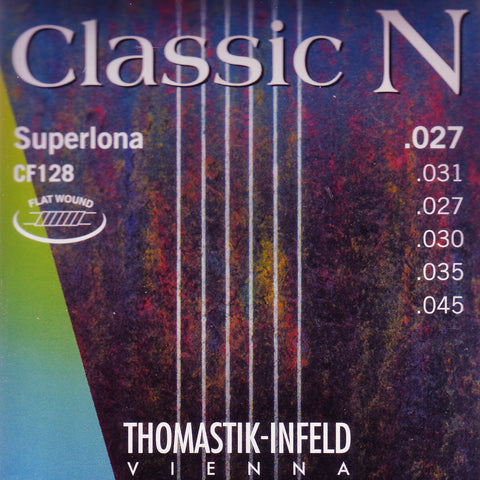 Image of Thomastik Infeld / Classic N / Superlona Flat Wound (CF-128)