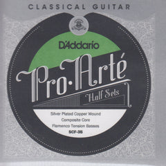Image of D'Addario / Pro Arté Composite Core Flamenco / Custom Tension BassPack (SCF-3B)