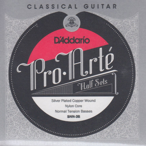 Image of D'Addario / Pro Arté Nylon Core / Normal Tension BassPack (SNN-3B)