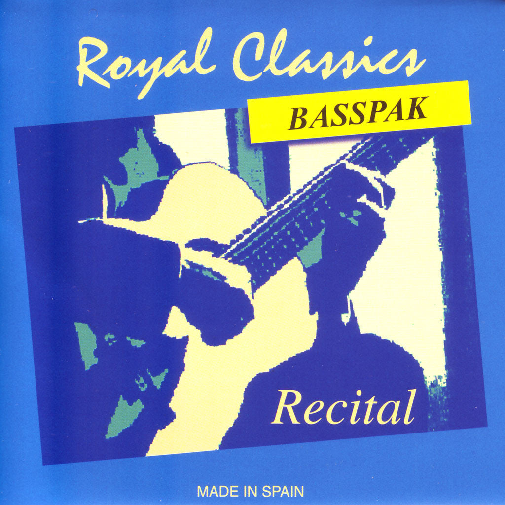 Image of Royal Classics / Recital / Medium Tension BassPack (RL-50-B)