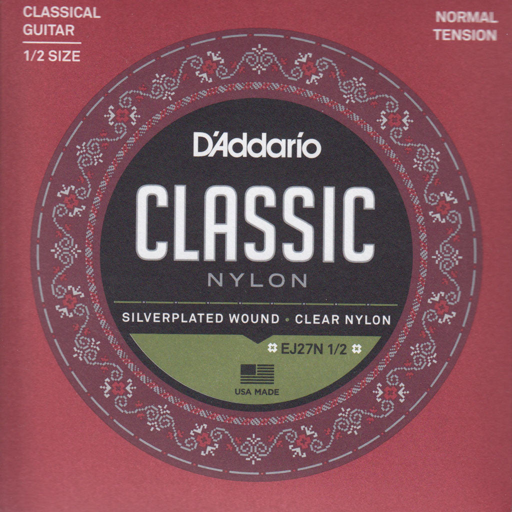 Image of D'Addario / Classic Nylon / 1/2 Scale Normal Tension (EJ-27-N-1/2)