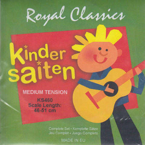 Image of Royal Classics / Kinder Saiten / 460-510mm Scale Medium Tension (KS-460)