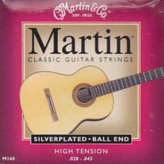 Image of Martin / Silverplated Ball End / High Tension (M-160)