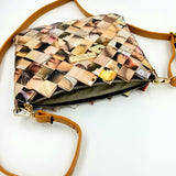 """SERENA"" Messenger & Cross Body Bag Brown - By Hands from Claudia"