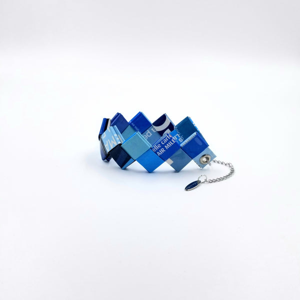 Elena Bracelet / Book Sign - Blue - By Hands from Claudia
