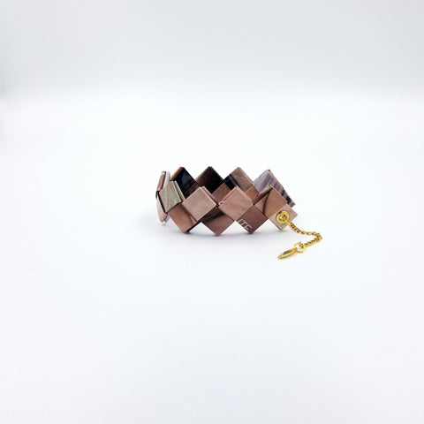 Elena Bracelet / Book Sign - Brown - By Hands from Claudia
