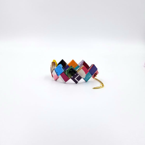 Elena Bracelet / Book Sign - Colorful - By Hands from Claudia